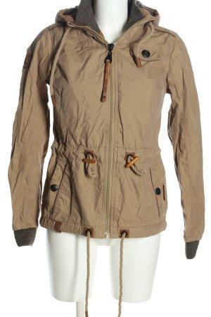 Naketano Outdoor Jacket cream casual look