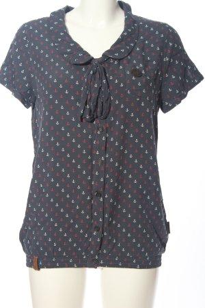 Naketano Print-Shirt Allover-Druck Casual-Look