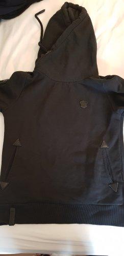 Naketano Capuchon sweater zwart