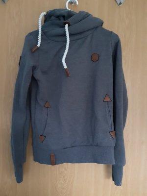 Naketano Hooded Sweater dark grey