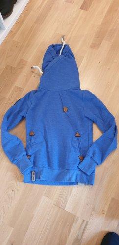 Naketano Jersey con capucha azul