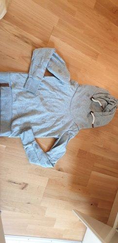 Naketano Jersey con capucha color plata-gris