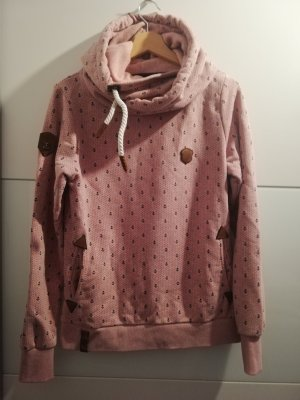 Naketano Hooded Sweater pink