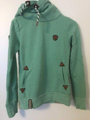Naketano Hooded Sweater mint-turquoise