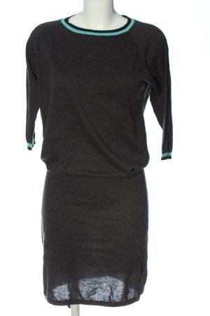 Naketano Pulloverkleid schwarz meliert Casual-Look