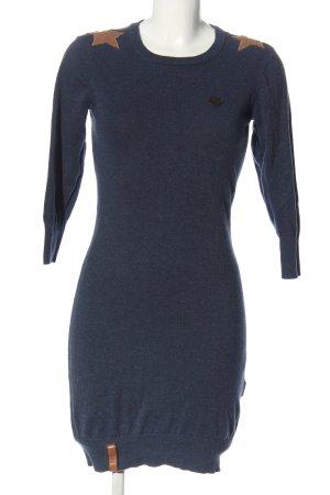 Naketano Pulloverkleid blau Casual-Look