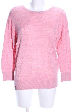 Naketano Rundhalspullover pink Casual-Look
