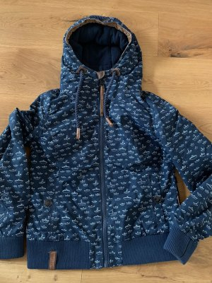Naketano Hoody dark blue-white
