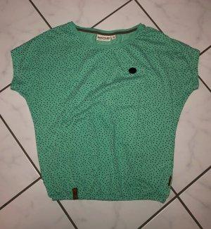 Naketano Shirt T-Shirt mint minzgrün Sternchen S 36-38 Neu