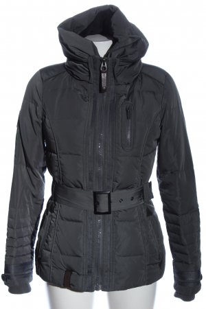 Naketano Steppjacke hellgrau Steppmuster Casual-Look