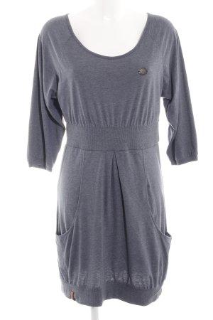 Naketano Vestido elástico gris claro moteado look casual
