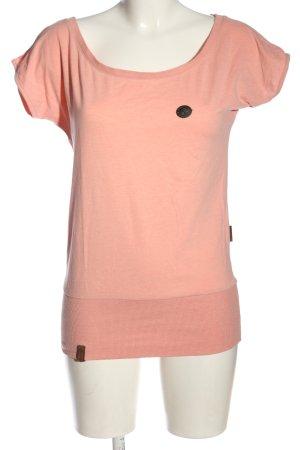 Naketano Koszulka z dzianiny różowy W stylu casual