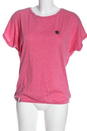 Naketano Camicia maglia rosa puntinato stile casual