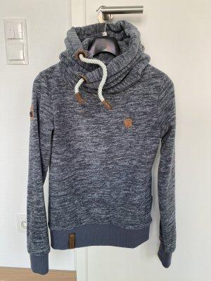 Naketano Sweat à capuche gris clair-gris ardoise
