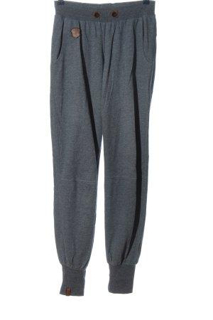 Naketano Pantalone fitness grigio chiaro puntinato stile semplice