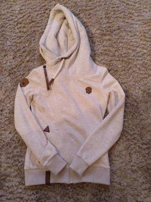 Naketano Hooded Vest light brown