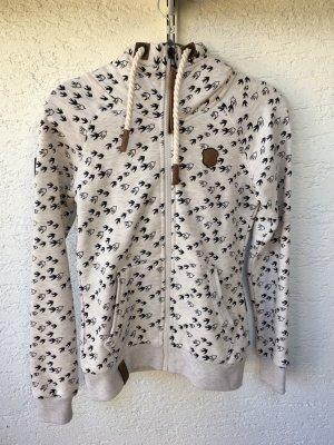 Naketano Sweat Jacket cream-white
