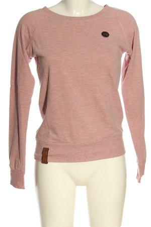 Naketano Bluza dresowa różowy W stylu casual