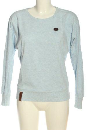 Naketano Bluza dresowa niebieski Melanżowy W stylu casual
