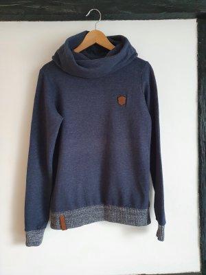 Naketano Suéter gris pizarra-azul oscuro