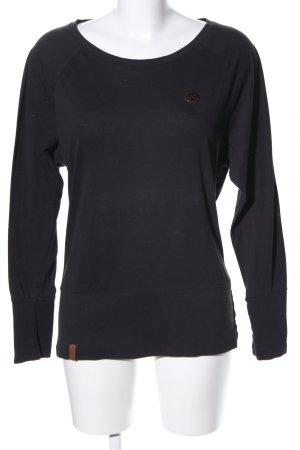 Naketano Sweatshirt schwarz Casual-Look