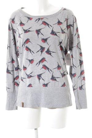 Naketano Sweatshirt Animalmuster Casual-Look