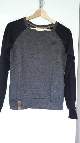 Naketano Felpa nero-grigio