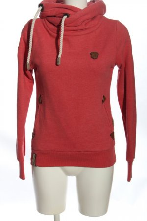 Naketano Sweatshirt rot Casual-Look