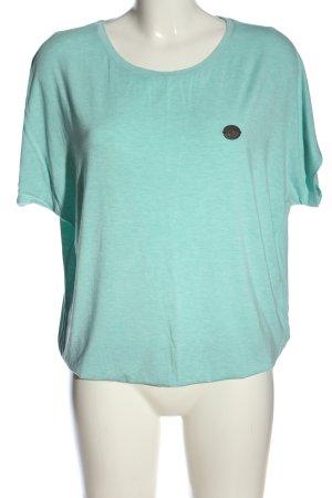 Naketano T-Shirt türkis Casual-Look