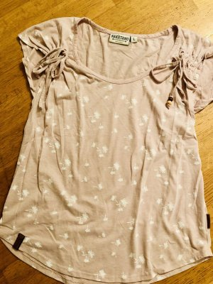 Naketano T-Shirt Gr.L rosa /weiß Palmen
