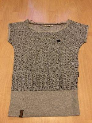 Naketano T-shirt srebrny Bawełna