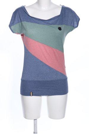 Naketano Boatneck Shirt flecked casual look