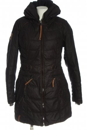 Naketano Winterjacke schwarz Steppmuster Casual-Look