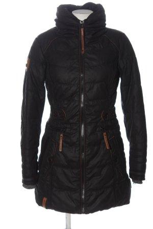 Naketano Kurtka zimowa czarny Pikowany wzór W stylu casual