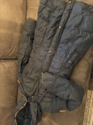 Naketano Down Coat dark blue-brown
