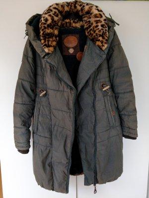 Naketano Płaszcz zimowy Wielokolorowy
