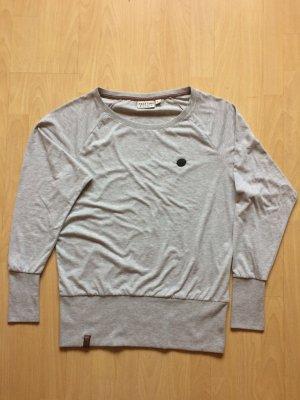 Naketano Koszulka basic srebrny Bawełna