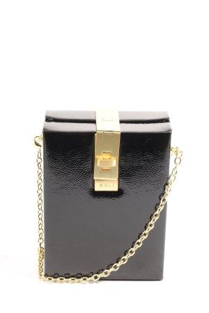 Nali Minitasche schwarz-goldfarben Casual-Look