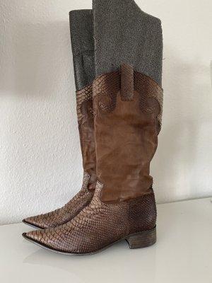 Nanas Buty w stylu western jasnobrązowy-brązowy