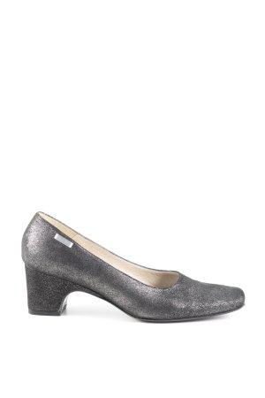 Nando Muzi High Heels silberfarben Casual-Look