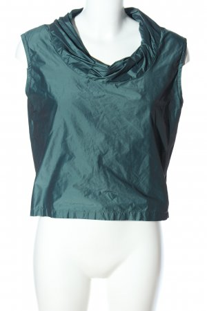 nanice Cowl-Neck Top green business style