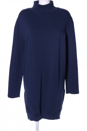 Nanushka Langarmkleid blau Casual-Look