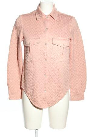 Nanushka Übergangsjacke pink Steppmuster Casual-Look