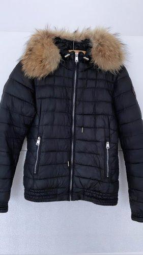 Napapijri Down Jacket black-brown