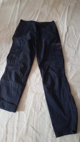 Napapijri Pantalone cargo blu scuro