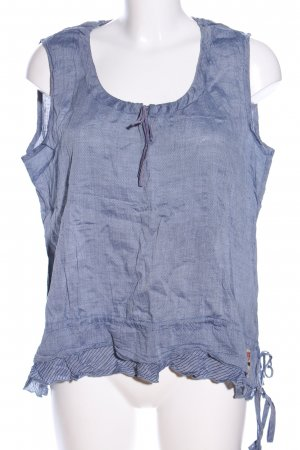 Napapijri ärmellose Bluse blau meliert Elegant