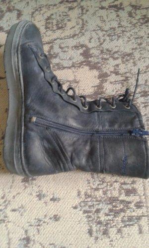Napapijri Chelsea laarzen donkerblauw