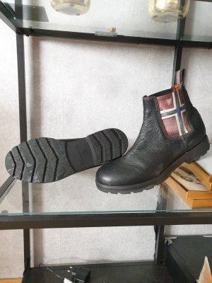 Napapijri Echtleder Boots Gr. 45