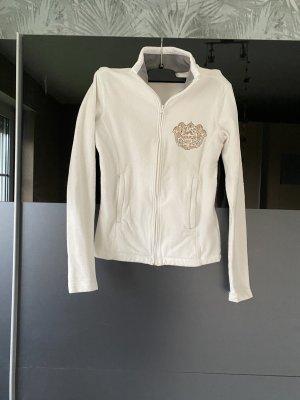 Napapijri Fleece Jackets white-natural white