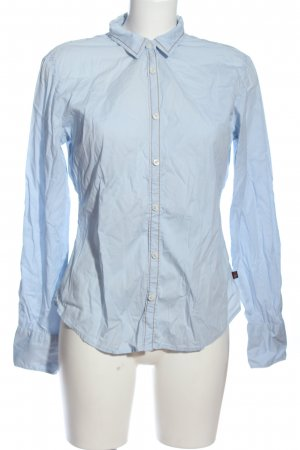 Napapijri Hemd-Bluse blau Business-Look